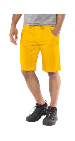 La Sportiva Chico korte broek Heren geel